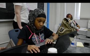 Black Girls Code hackathon